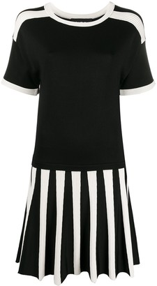 Boutique Moschino Short-Sleeve Knit Dress