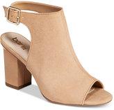 Bar III Marli Block-Heel Shooties, Only at Macy's Women's Shoes