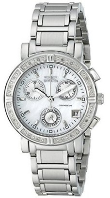 Invicta Women's II 4718 White Stainless-Steel Swiss Quartz Fashion Watch