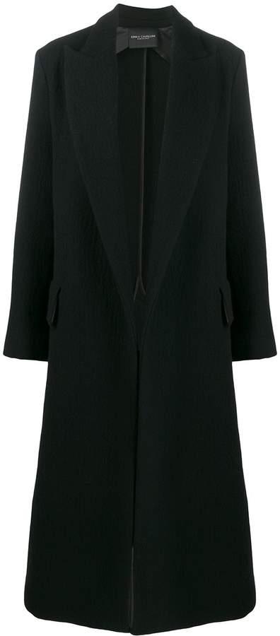 Cavallini Erika long single-breasted coat