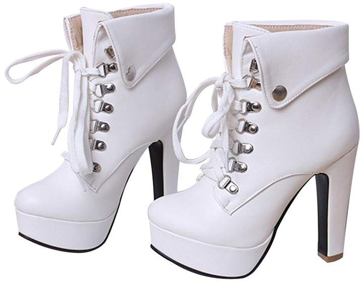 a9e42cb238f White High Heel Boots For Women - ShopStyle Canada