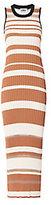 Sonia by Sonia Rykiel Stripe Knit Sleeveless Dress