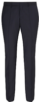 Hugo Boss Hugo Huge/genius Virgin Wool Slim Fit Suit Trousers, Dark Blue