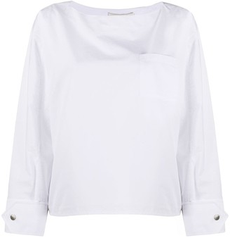 3.1 Phillip Lim Boat Neck Blouse