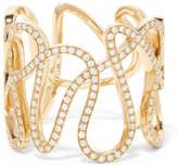 Repossi White Noise 18-karat Gold Diamond Ring - 52