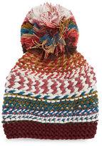 BCBGMAXAZRIA Fiesta Pom Pom Knit Beanie Hat