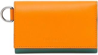 Burberry colour-block wallet