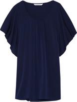 Diane von Furstenberg Stella stretch-satin mini dress