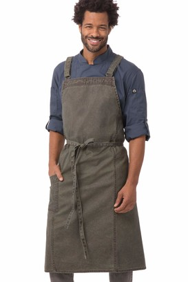 Chef Works Denver Chefs Cross-Back Bib Apron