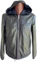 Prada Metallic Leather Jackets