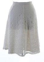 Calvin Klein Women's Lace Midi Skirt