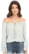 Culture Phit Coralee Woven Top with Tassels
