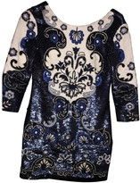 Needle & Thread Blue Glitter Dress for Women