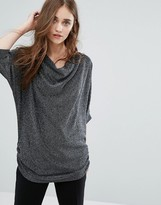 Ichi Lulu Top with Ruched Side