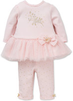 Little Me 2-Pc. Tutu Dress & Leggings Set, Baby Girls (0-24 months)