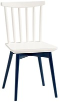 Pottery Barn Kids Spindle Play Chairs, Navy & Simply White
