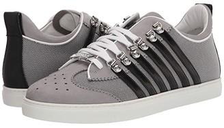 DSQUARED2 251 Low Sole Sneaker (Grey/Black) Men's Shoes