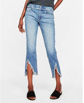 Express mid rise original cropped skinny jeans
