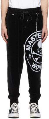 Mastermind Japan Black Velour Lounge Pants