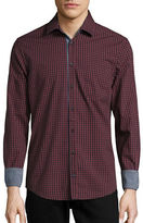 HUGO BOSS Slim-Fit Gingham Sportshirt