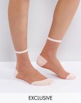 Monki Metallic Socks