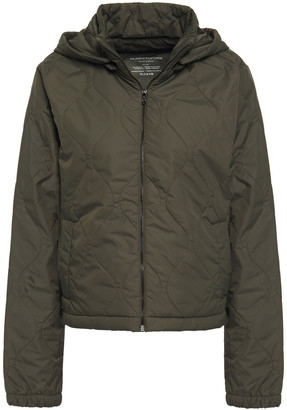 Majestic Filatures Quilted Shell Hooded Jacket