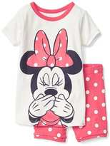 babyGap | Disney Baby Minnie Mouse short sleep set