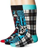 Happy Socks Men's X Iris Apfel 3 Pack Combed Cotton Box Set