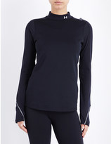 Under Armour ColdGear elements stretch-jersey top