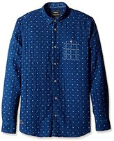 Wesc Men's Ranjit Long Sleeve Regular Fit Shirt