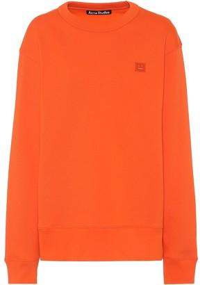 Acne Studios Fairview Face cotton-jersey sweatshirt