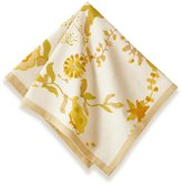 Couleur Nature 19-inches by 19-inches Treetop Napkin, Yellow/Green, Set of 6