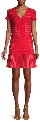 Ted Baker Stitched Mini A-Line Dress