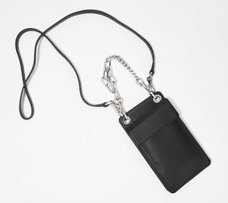 Vince Camuto Pebble Leather Small Crossbody - Liya