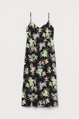 H&M H&M+ Crepe maxi dress