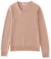 Women 100% Cashmere Crew Neck Sweater