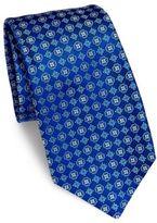 Kiton Clover Silk Tie