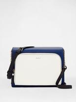 DKNY Colorblock Saffiano Pocket Crossbody