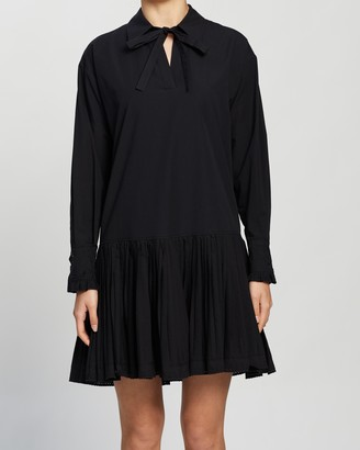 See by Chloe Drop-Waist Shirt Dress