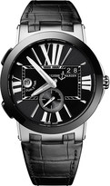 Ulysse Nardin 243-00/42 Executive Dual Time stainless steel watch