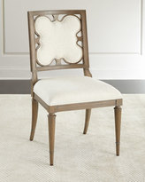 Ambella Linen Clover Side Chair