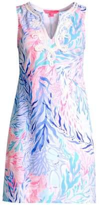 Lilly Pulitzer Harper Sleeveless Print Shift Dress
