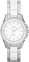 DKNY Westside Two Tone Bracelet Watch