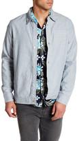RVCA Static Plus Long Sleeve Regular Fit Shirt