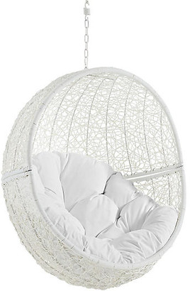 One Kings Lane Hide Outdoor Porch Swing - White