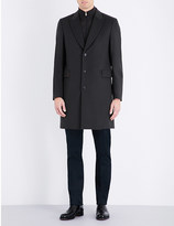 Paul Smith Single-breasted wool and cashmere-blend coat