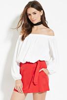 Forever 21 Contemporary Belted Mini Skirt