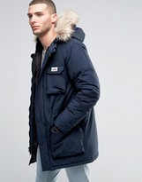 Penfield Lexington Mountain Parka Faux Fur Trim