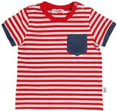 Il Gufo Striped Cotton T-Shirt With Pocket