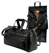 Traveler G. Pacific FAA Carry On Approved Duffel Garmet Bag - Black